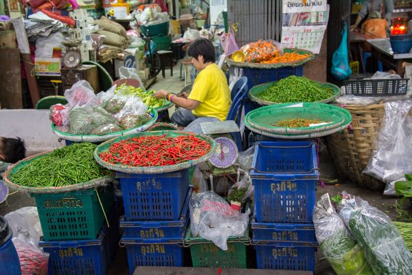 Mercados y compras en Bangkok